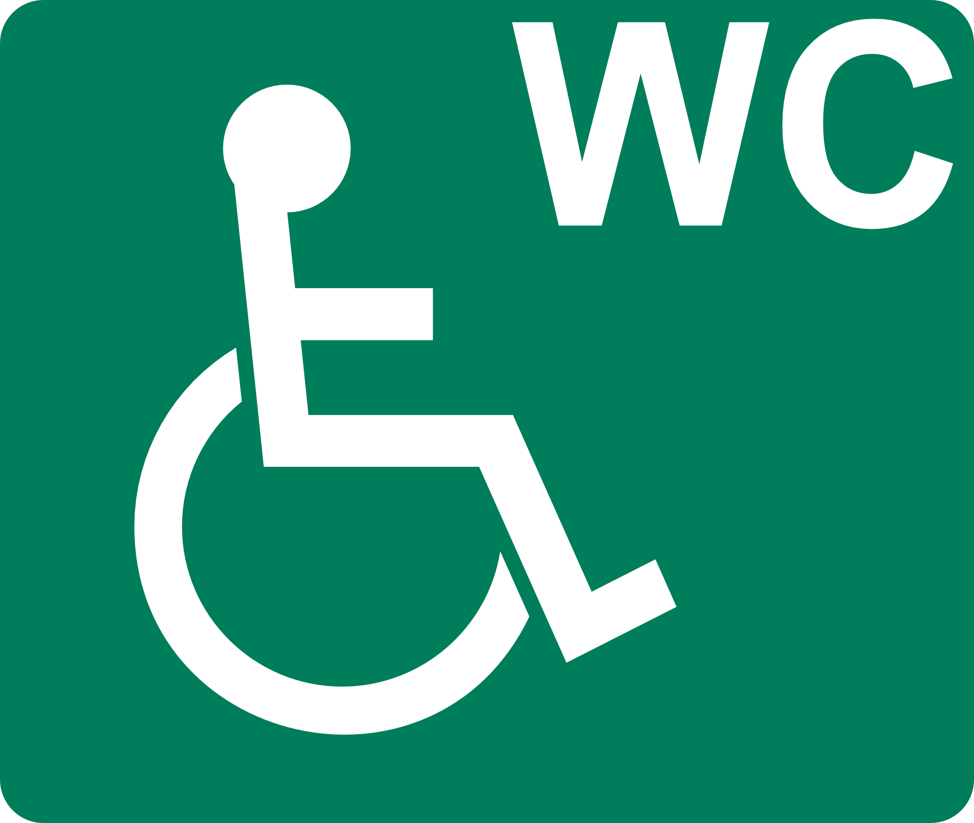 pictogram, disabled, wheelchair